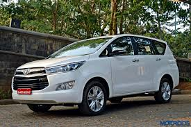 New 2016 Toyota Innova Crysta launched in India, top variant ...