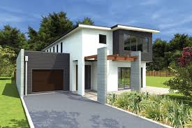 Small Picture 3d Front Elevation New 1 Kanal Contemporary House Design In