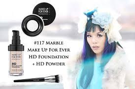 make up forever hd foundation powder