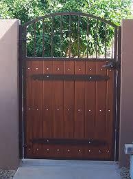 wood and iron gates u2039 u203a iron gates with wood40