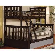 Paloma Twin over Full Bunk Bed in Espresso | Nebraska Furniture Mart ...