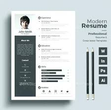 Resume Templates Word Free Modern Free Modern Resume Template Modern Resume Template Word Contemporary