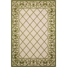 aloha green 4 ft x 6 ft indoor outdoor area rug