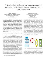 Traffic Light Controller Using Fuzzy Logic Pdf A New Method For Design And Implementation Of