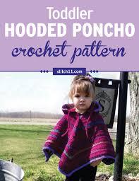 Toddler Poncho Crochet Pattern
