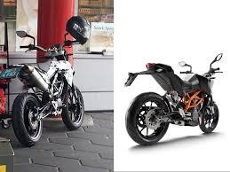 spyshot ktm s new 390 duke based supermoto bikesrepublic