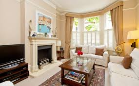 picture gallery for 5 tips in decorating your home with bay window curtains