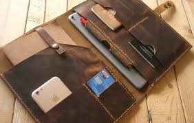 personalized leather padfolio personalized leather
