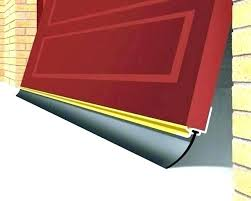 garage door side weather seals garage door side seal garage door weather stripping trim garage door