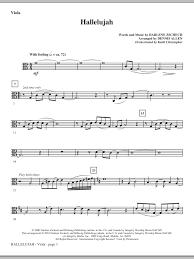 sheet music direct us hallelujah viola sheet music direct