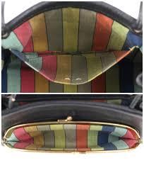 ... monogram medium khaki totes boi 96f07 09f69 ireland coach c.1967 bonnie  cashin black pebbled leather kiss lock mini tote bag purse ...