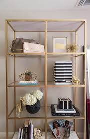 ikea vittsjÖ shelves diy gold ikea bookcase how to style a bookcase bedroom