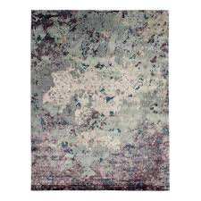 willow hand knotted gray purple area rug pink and rugs silk