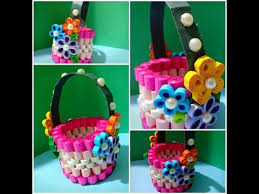 Paper Quilling Flower Baskets How To Make Decorative Quilled Basket Diy Paper Basket 3d Paper