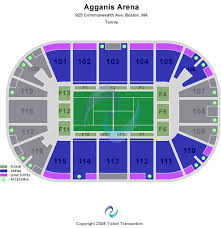 Agganis Arena Concert Seating Chart 62 Expository Agganis Arena Seating Chart Rows