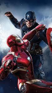 480x854 iron man captain america hd