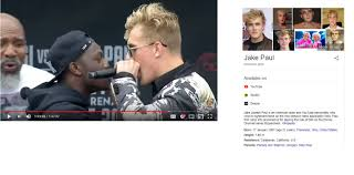 Jake Paul lying about his height JFL The black guy is 5'8 max btw - Album  on Imgur