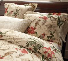 new bedding at pottery barn