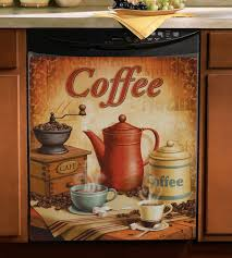 Coffee Kitchen Theme Decor Decorating Java Coffee Kitchen Wall Decor In Black Frame Things