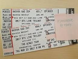 Tickets Bts Wings Tour Tickets P2 Backga Newark Prudential