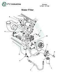 water filter series 60 detroit diesel engines catalog page 261 5 7001 5 7100 water filter jpg diagram