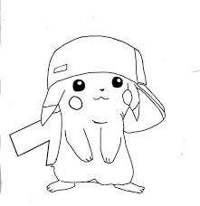 Coloring Page Pikachu Hd Coloring Pages Coloring Pages Pokemon