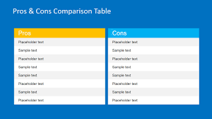 Pros Cons Powerpoint Template
