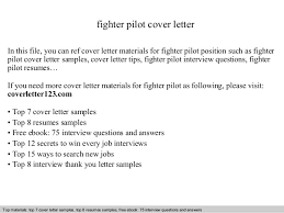 Free Download Sample Cover Letter For Resume Fighter Pilot Cover Letter
