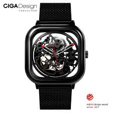 <b>Watch Xiaomi</b> CIGA Hollowed out Design Anti Seismic Mechanical ...