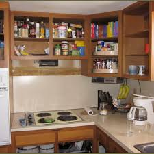 Decorating Kitchen Cabinets Without Doors