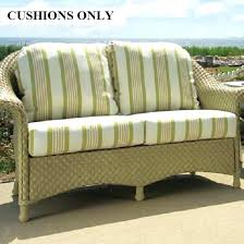 replacement cushion for rattan furniture idea replacement cushions for outdoor wicker furniture or