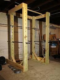 homemade power rack diy squat rack ideas for your home gym diy squat rack