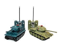 <b>Радиоуправляемый танковый бой Huan</b> Qi Т34 и Tiger 508-555 ...