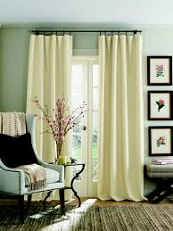 clip ring curtains soft tweed