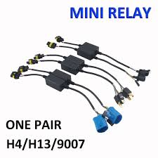 h4 hid harness easy relay harness for h4 h13 9007 hi lo bi xenon hid