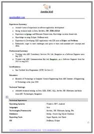 Free biology resume templates Doc bestfa tk