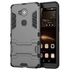 huawei g8. slim armour tough shockproof case for huawei g8 - silver i