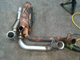 y pipe ford truck enthusiasts forums i purchased 2 2 5 u bends a magnaflow merge collector and one stick of 4 foot 2 5 pipe no cats