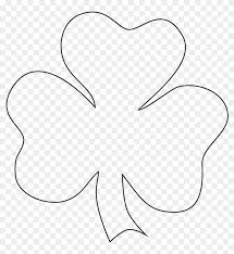 Shamrock fill in the missing numbers printable pin187facebooktweet fill in the missing numbers on the shamrocks. Love Free Printable Shamrock Template Shamrock To Color Free Transparent Png Clipart Images Download