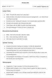 Resume Formats For Experienced Free Download Accounting Resume