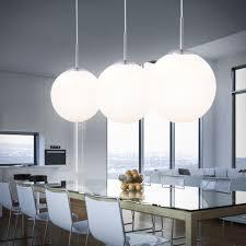 Details Zu Led 95 Watt Pendelleuchte Hängelampe Schlafzimmer Opal Kugel Beleuchtung Design