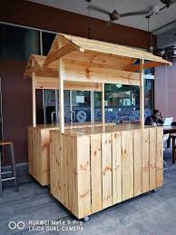 Diy Food Cart Design Creative Creations With Reclaimed Wooden Pallets Diy