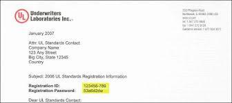 Ul Sccl Registration