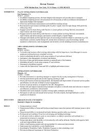 resume footprint reviews - operations controller resume samples velvet jobs