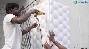 Fiber Sheet Design For Wall Ecoste Clad Ex 3d Wall Panels Installation