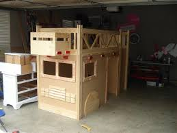 diy fire truck bunk bed metal screen for the grill