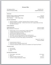 Resume Examples For College Students With Work Experience - Best .