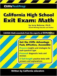 Cahsee Score Chart Amazon Com Cliffstestprep California High School Exit Exam
