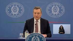 Nuovo decreto Covid di Draghi: estensione green pass, proroga stato di  emergenza e nuove colorazione regioni