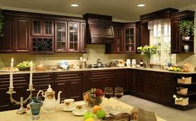 sage green luxury green kitchen walls with cherry cabinets